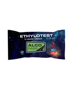 Ballon éthylotest chimique 0.5 G/L