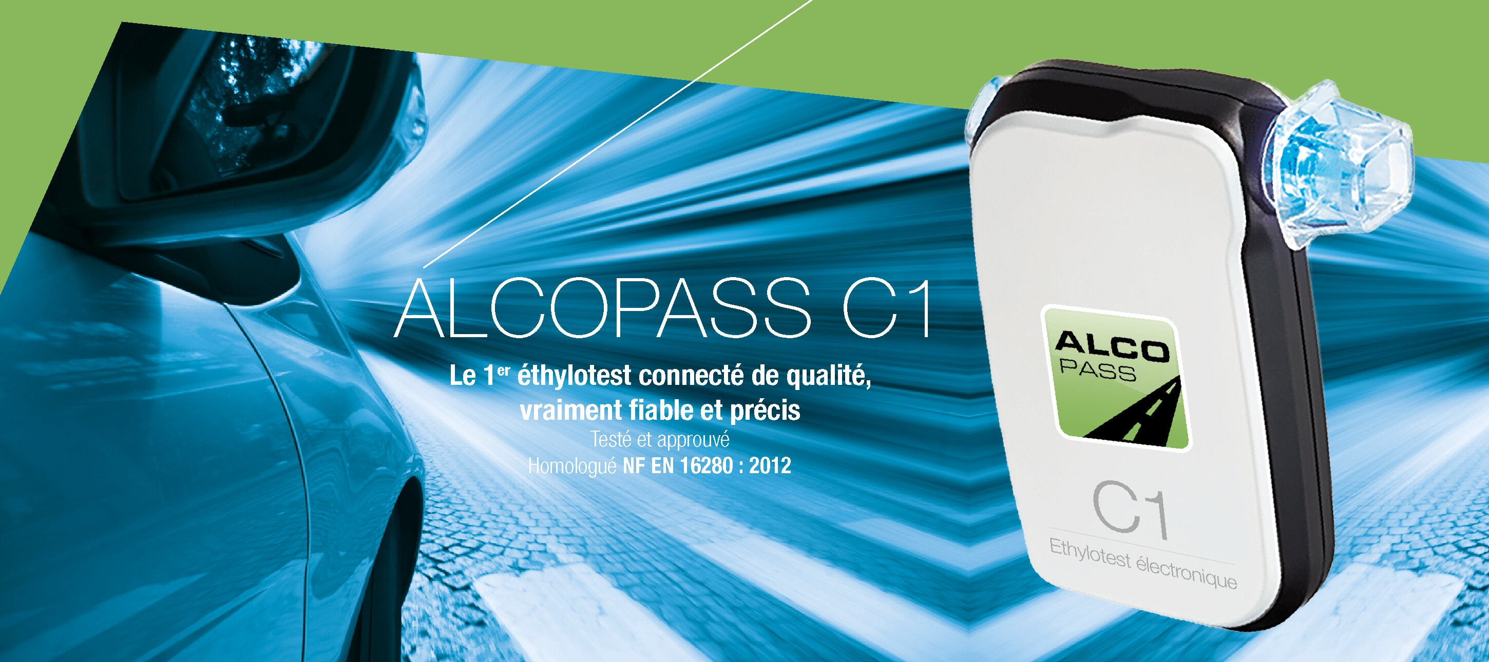 ethylotest connecté Alcopass C1