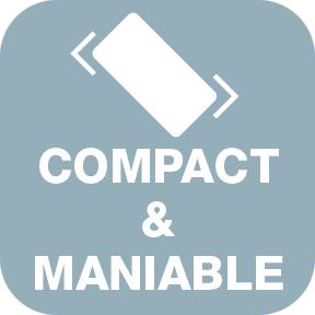 ALCOPASS C1 Compact et maniable