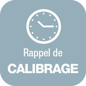 Rappel de Calibrage sur ALCOPASS C1
